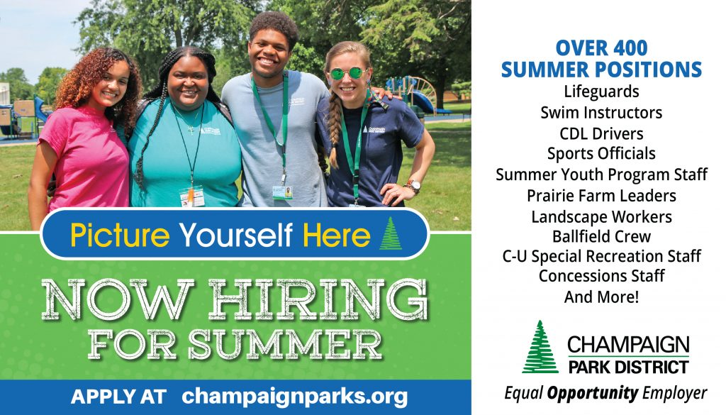 Picture Yourself Here: Now Hiring for Summer. Over 400 summer positions!