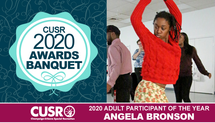 CUSR 2020 Awards Banquet 2020 Adult Participant of the year: Angela Bronson