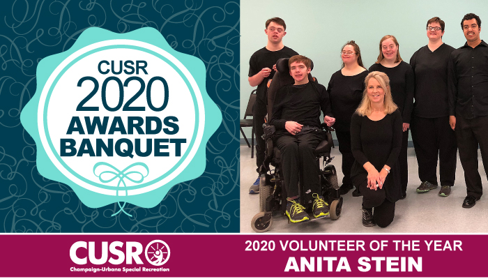 CUSR 2020 Awards Banquet 2020 Volunteer of the Year: Anita Stein