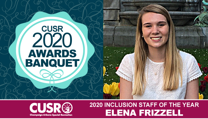 CUSR 2020 Awards Banquet 2020 Inclusion Staff of the Year: Elena Frizzell