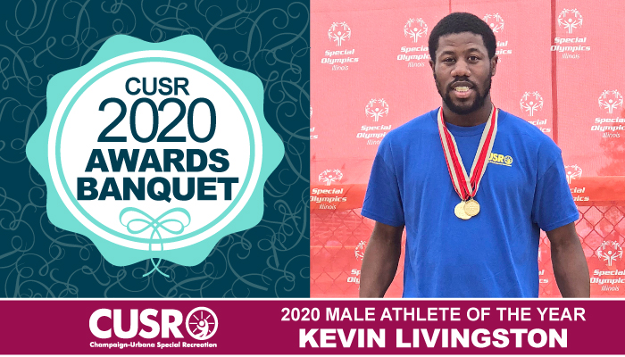 CUSR 2020 Awards Banquet 2020 Male Athlete of the Year: Kevin Livingston