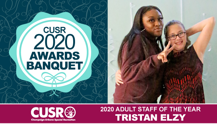 CUSR 2020 Awards Banquet 2020 Adult Staff of the Year: Tristan Elzy