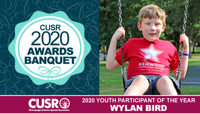 CUSR 2020 Awards Banquet 2020 Youth Participant of the Year: Wylan Bird